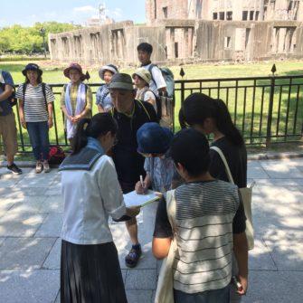 【国際活動】インターアクトクラブとGSコースが核兵器廃絶署名活動に参加
