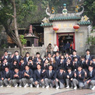 【国際交流】JENESYS2.0 マカオ高校生が来校します。