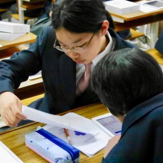 【ICT教育】中1と高1へのiPad配布