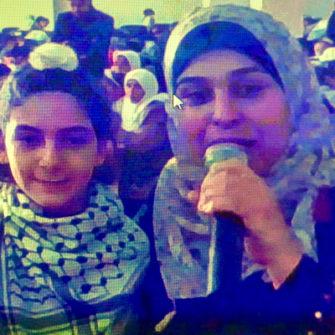 【国際交流】ガザの生徒たちとSkype交流